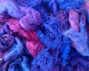 Silk Fibres & Silk Paper Making