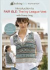 """An Introduction to Fairisle:Ivy League Vest"" Knitting Daily workshop DVD with Eunny Jang (1)"