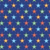 Camelot - Outer Space Blue Stars fabric