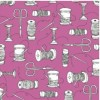 Whistler Studios Shop Local fabric - Spools Pink