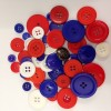 Patriotic Button pack - approx 50g