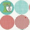Andover Kitschenette fabric - Circle