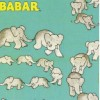 Camelot - Babar Travelling Elephants Turq fabric