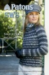 """Sacs and Sweaters"" pattern booklet using Patons SWS yarn"