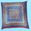 Arty's ready-outlined silk cushion cover - Folklore - limited stock