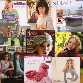 Knitting pattern booklets and books 75% OFF