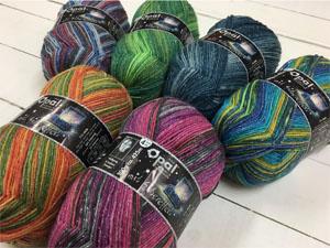 Sock Knitting Kits Uk : Rainbow silks : products in opal sock yarns kits and patterns category