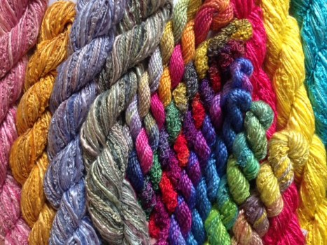 Threads & Yarns for Hand Embroidery & more
