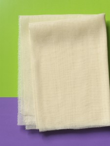 Organic Cotton Muslin/Cheesecloth - loom state cream, by the metre