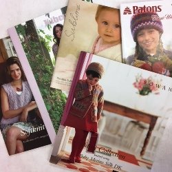 FIVE Assorted Knitting Pattern Booklets - Rowan, Sublime, Debbie Bliss etc - sent at random