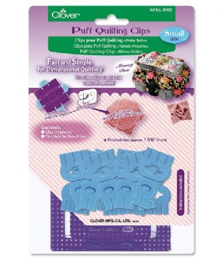 Clover Puff Quilting Clips Small (3)