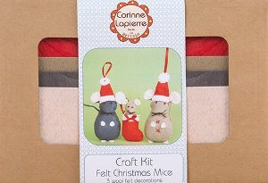 Corinne Lapierre kit - 3 Christmas Mice DISC (1)