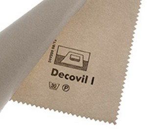 Vlieseline (Vilene) Decovil 1 - leather-effect interfacing by the metre  SUPPLIED FOLDED