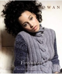 """Evolution"" from Rowan, using a variety of yarns (2)"