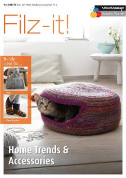 """Home Trends and Accessories"" using Filz-it yarns SOLD OUT"