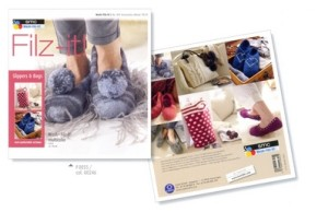 Filz-it 003 Accessories Deluxe booklet using multicolour yarn (19)