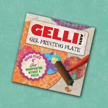 "Gelli Arts Gel printing Plates 4"" Round OUT OF STOCK"