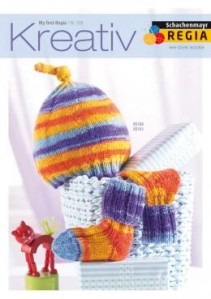"""My First Regia"" Kreativ 006 booklet with 3 patterns (5)"