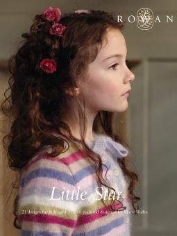 """Little Star"" from Rowan using 4ply and DK yarns (1)"