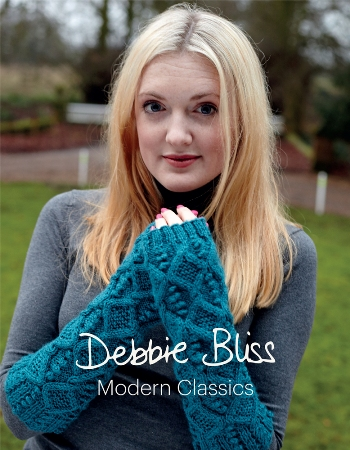 """Modern Classics"" from Debbie Bliss using DK yarns SOLD OUT"