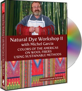 """Natural Dye Workshop 2 - Colors of the Americas (wool)"" with Michel Garcia - free UK P&P (3 left)"