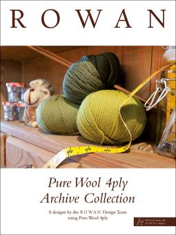 """Pure Wool 4ply Archive Collection"" Rowan booklet (3)"