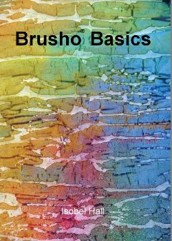 """Brusho Basics"" booklet by Isobel Hall OUT OF STOCK"