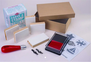 Essdee Carve a Stamp Kit NEW