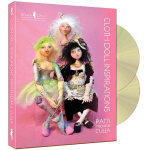 """Cloth Doll Inspirations"" 2-disc DVD with Patti Medaris Culea - free P&P within UK"