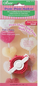 Clover Pom-Pom Maker - Small Heart (2)