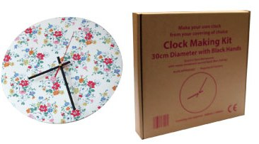 Clock Kit with White Hands (not black as shown)