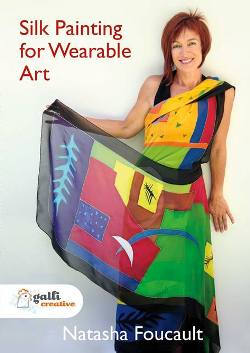 """Silk Painting for Wearable Art"" DVD with Natasha Foucault (7)"