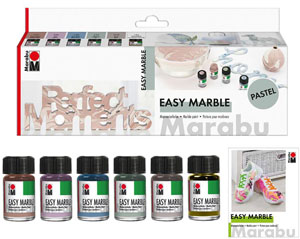 Marabu Easy Marble Set Pastel NEW