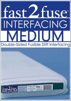 Fast 2 Fuse Interfacing by the metre - Mediumweight SUPPLIED FOLDED