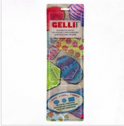 Gelli Arts Minis - Oval, Rectangle, Hexagon NEW