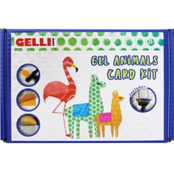 Gelli Arts Gel Animals Card Kit NEW - OUT OF STOCK
