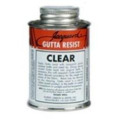 Jacquard Clear Solvent-based Gutta Resist 238ml/8oz - UK mainland only