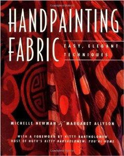 """Handpainting Fabric"" Newman & Allyson SOLD OUT"