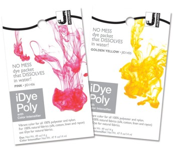 Jacquard iDye Poly for polyesters/nylons (disperse dye)