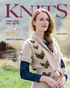Interweave Knits Fall 2013 SOLD OUT