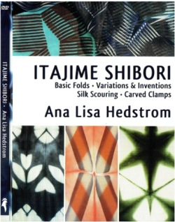 """Itajime Shibori"" DVD with Ana Lisa Hedstrom - NEW - postage free within the UK OUT OF STOCK"