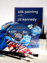"""Silk Painting with Jill Kennedy"" DVD"
