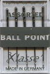Klasse Machine Needles - Ballpoint Assorted (7)