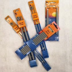 5 Pony Knitting Needles - assorted