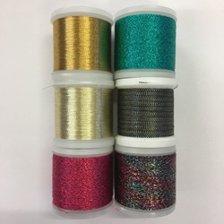Madeira Metallic thread - Pack of 6 assorted colours