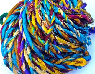 Recycled Mulberry Silk Yarn
