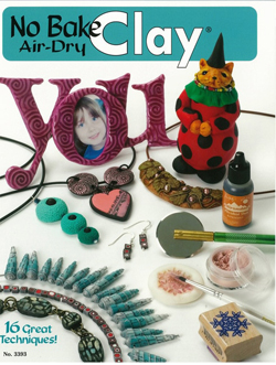 """No-Bake Air-Dry Clay"" Design Originals booklet (1)"