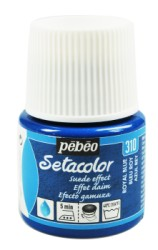 NEW Pebeo Setacolor Opaque Suede Effect fabric paints