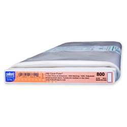 Pellon 800 Clear-fuse - clear-backed fusible web