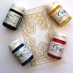 Philip & Tacey set of 4 silk paints - OUT OF STOCK